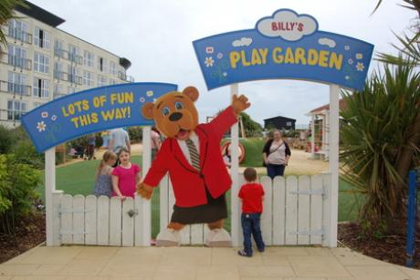 Children playing at Butlins