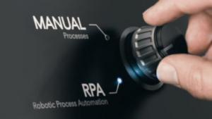 Switch from manual processes to RPA processes