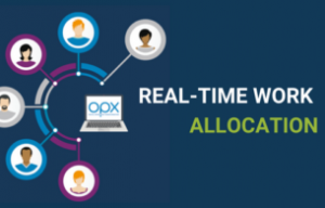 Real time work allocation